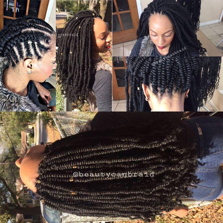Long spring twists #beautycan braid