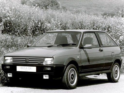 Seat Ibiza 1.5 SXi (1988 – 1991).