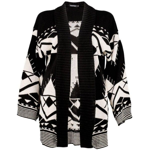 Boohoo Sophie Kimono Sleeve Aztec Cardigan | Boohoo (105 BRL) ❤ liked on Polyvore featuring tops, cardigans, boyfriend cardigan, batwing tops, short sleeve boyfriend cardigan, neon cardigan and kimono sleeve top