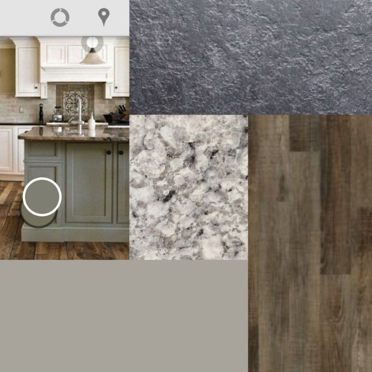 Dorian Gray Paint Berkley Oak Plank Flooring Argento Romano