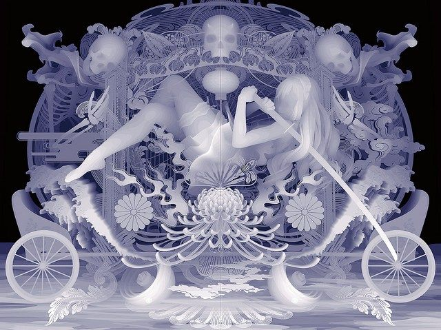 Longtime followers of Japanese artist Kazuki Takamatsu may already know his process: painstaking gouache layers that recreate scenes first imagined on 3-D computer software. Yet, in his latest set …