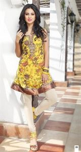 Show details for Sunflower Yellow Kurti