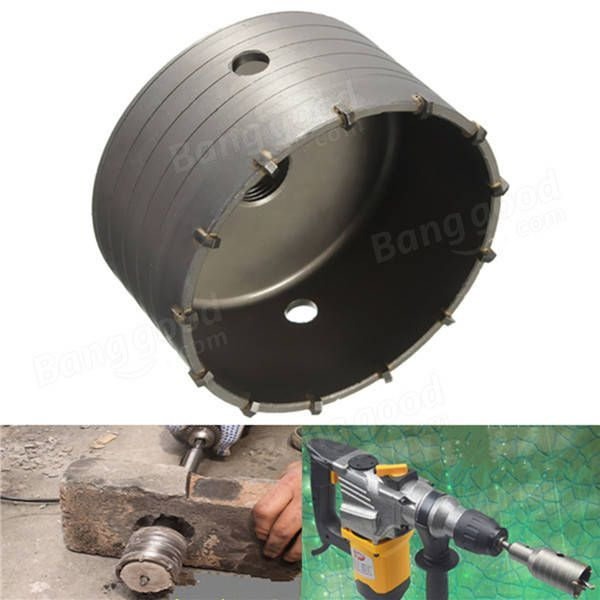 Us 36 62 110mm Hollow Core Drill Bit Alloy Hole Saw Cutter For Concrete Brick Wall 110mm Hollow Core Drill Alloy Hole Cutter Concrete Brick Wall Reli