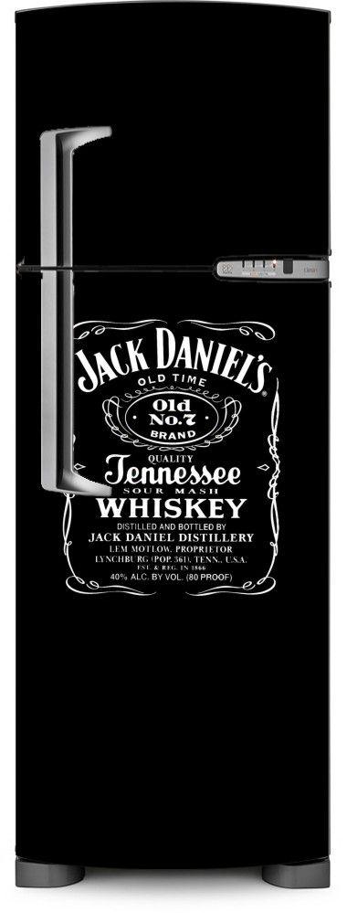 Envelopamento de geladeira - Jack Daniels