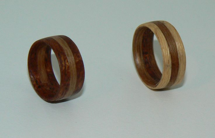 My project of wooden rings for my daughter.
