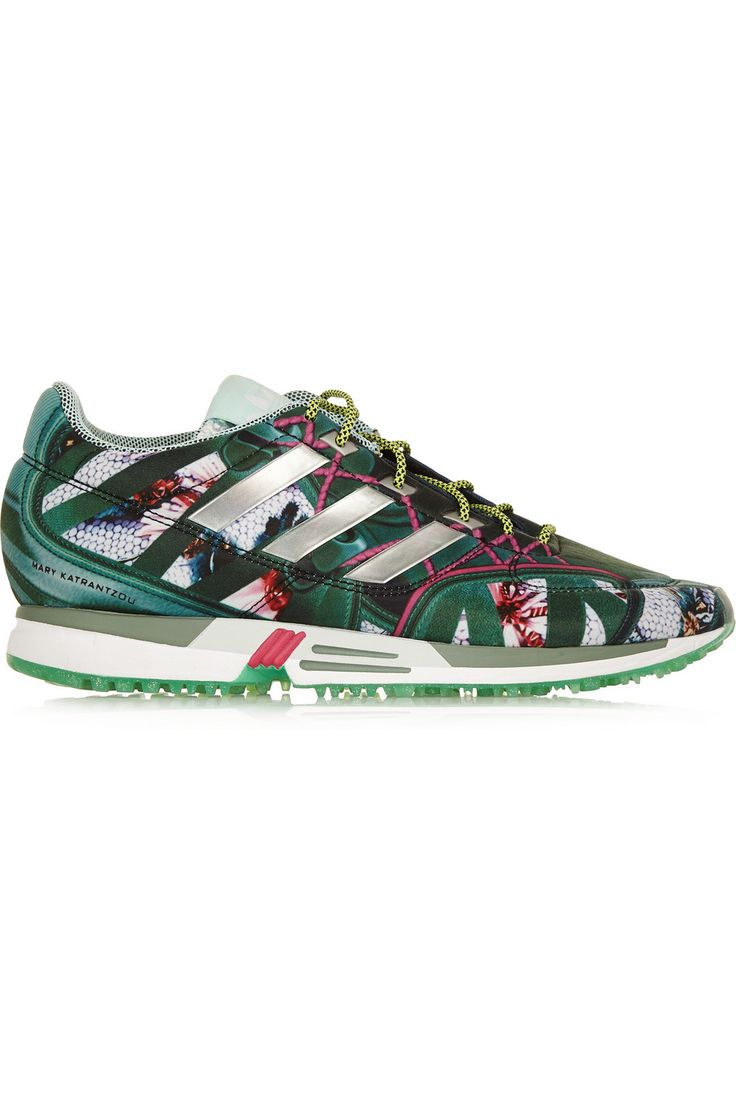 adidas Originals | + Mary Katrantzou Bomfared Equipment Racer scuba-jersey  sneakers | NET-