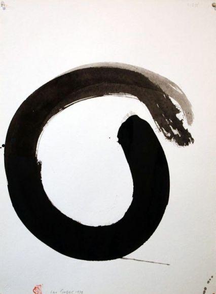 Enso - Works on Paper - Max Gimblett