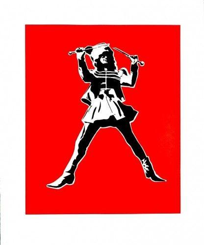 Resist Against The Imposters 2007 Serigrafía 65x54 cm Autor: Blek Le Rat 3 Punts Galeria #arte #artecontemporaneo #art #contemporaryart