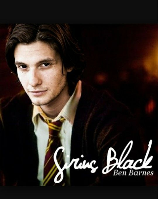 Omg!!! Ben Barnes as Sirius Black!!! Damn.... He siriusly (seriously) looks like the way he is described...