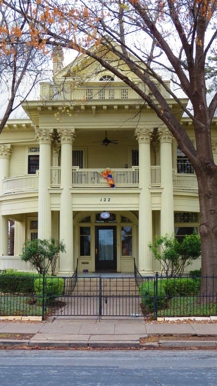 Take a walk through King William District, San Antonio, TX to see all historic houses.