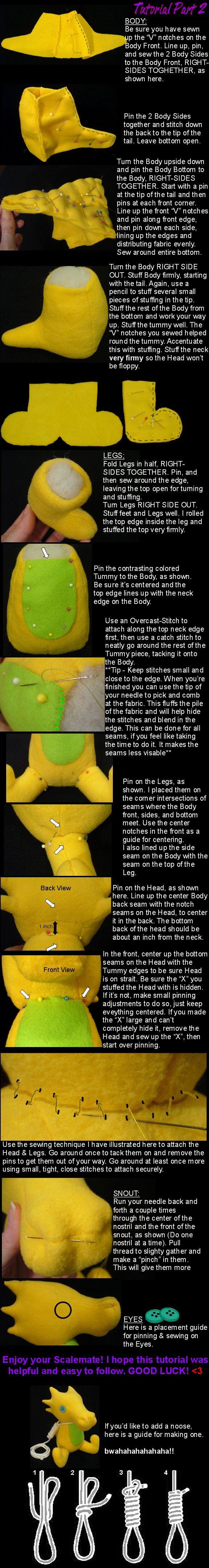 Scalemate sewing tutorial Part 2 by lishlitz.deviantart.com on @deviantART