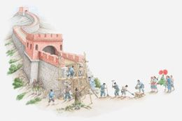 Go Through Asian History: Why was the Great Wall of China Built?