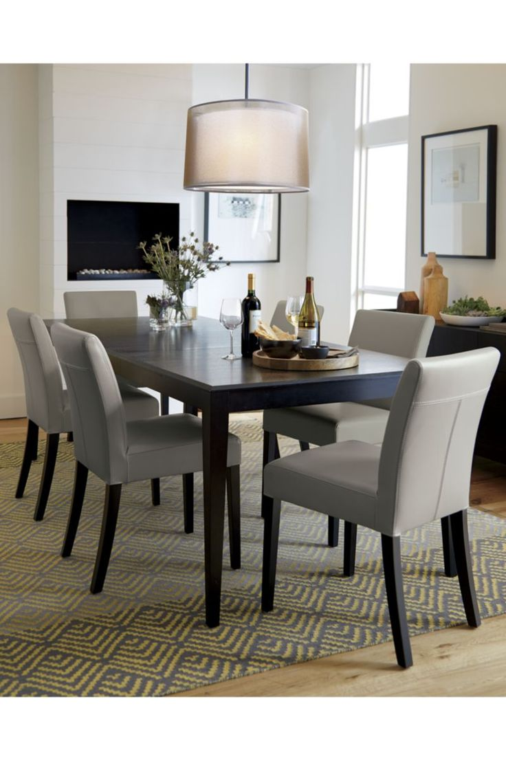 Crate and barrel dining room table - Facet Extension Dining Table Crate And Barrel
