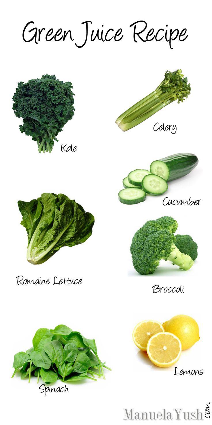 Beauty Recipe: Healthy Green Juice