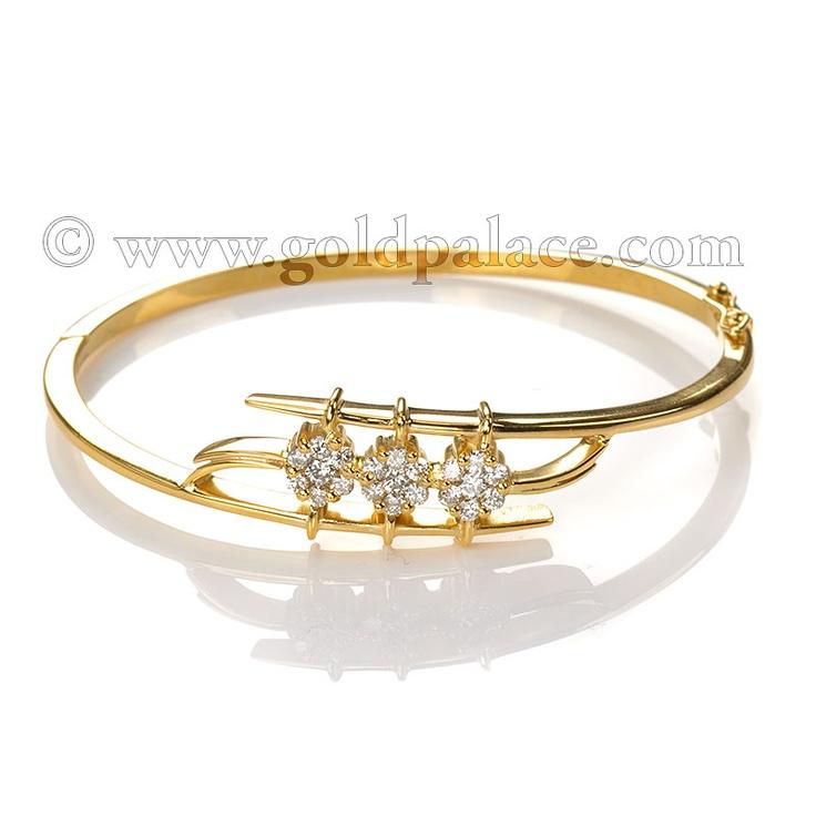 18 k Gold Diamond Bracelet