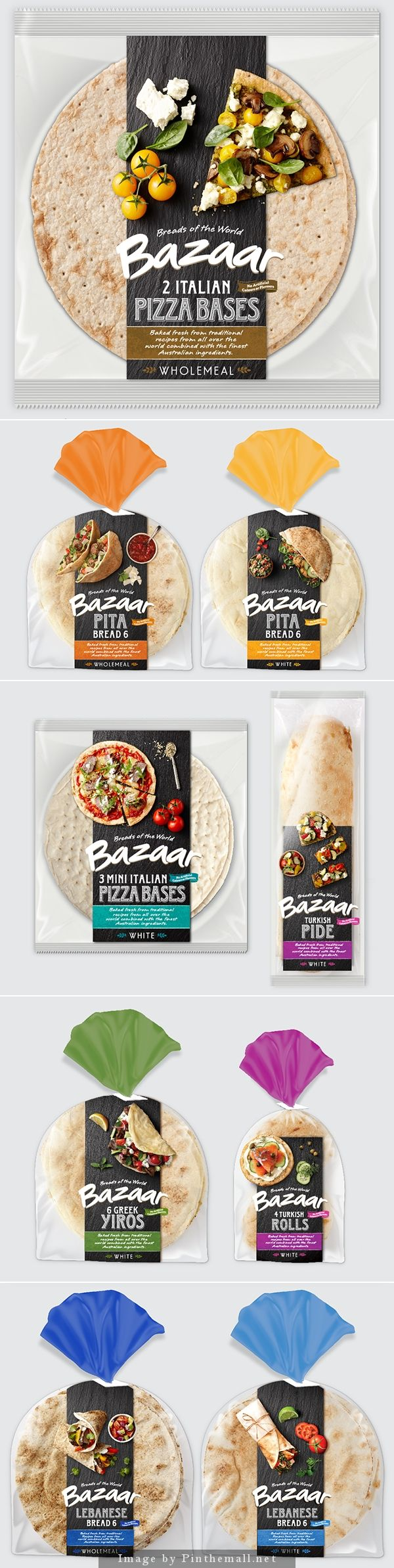 Great package design for a bread brand!