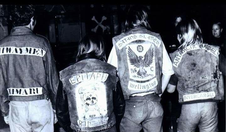Epitaph riders mc, Satans slaves mc, Antartic angels mc