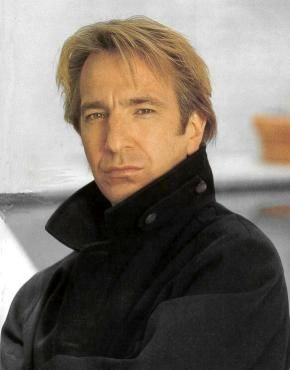 Alan Rickman -  Nothing like a talented actor who does creepy, endearing, and bitingly sarcastic all perfectly - and that's just when he's playing a Good Guy.