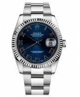 Rolex Datejust 36mm Acier Bleu Cadran Oyster bracelet 116234 BLRO