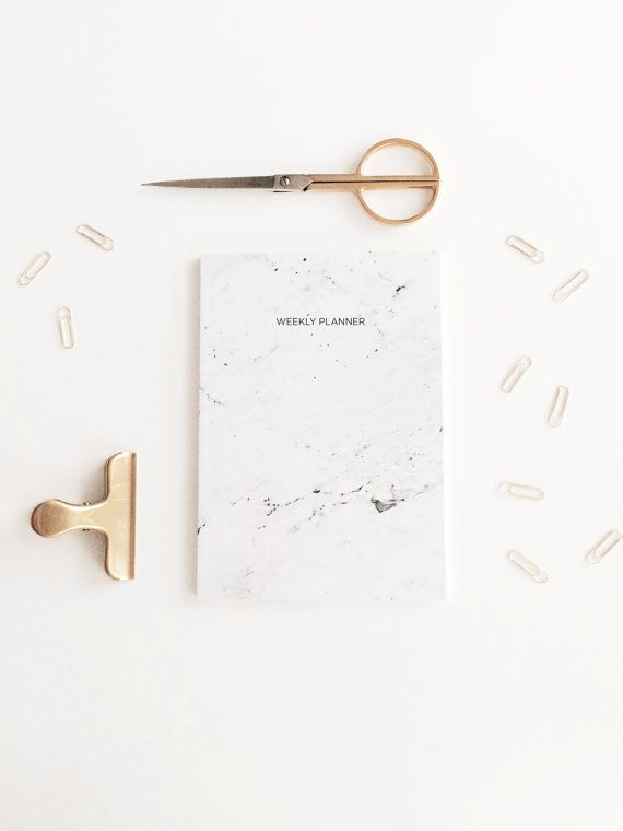 Are you bored of buying diaries, forgetting to use them and then realising that its the end of the year and you have to buy a new one?! Our marbled