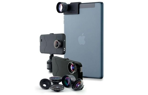 The iPro Lens System : Revealed at Mobile World Congress 2014, hosted in Barcelona, Spain, Schneider Optics showcased interchangeable lenses now compatible with a long list of devices.