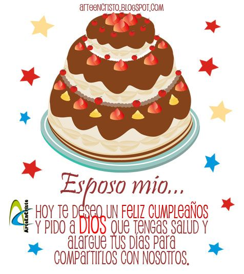 Tarjetas de Cumpleaños: Tarjetas de cumpleaños para mi Esposo