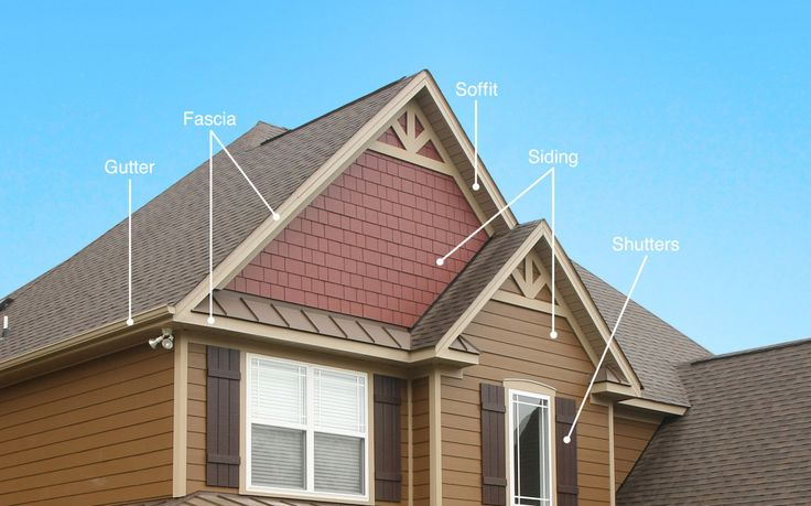 Best 55 Soffit And Fascia Color Ideas On Pinterest