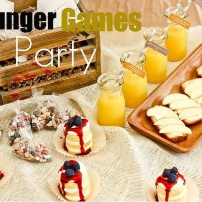 Hunger Games Party: Hunger Games Parties, Food Ideas, Books Club, Theme Parties, Parties Recipes, Parties Ideas, Desserts Parties, Games Food, Parties Food