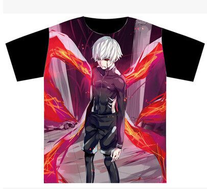 Hot New Tokyo Ghoul T-shirt High Quality