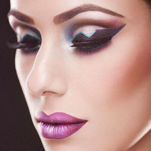 make up futuristico