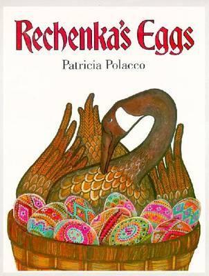 Rechenka's Eggs - Patricia Polaco; Varsta: 2+; Ilustrata senzational, cartea ne povesteste sarmant despre prietnie si grija. Batrana Babushka, cunoscuta in toata Moskva pentru ouale frumos vopsite, pregateste ouale pentru Festivalul de Paști, cand intalneste o gasca pe care o numeste Rechenka. Intr-o zi, Rechenka rastoarna accidental cosul cu toate oua superb realizate de Babushka  In dimineața urmatoare acesta o asteapta in cos o miraculoasa surpriza.