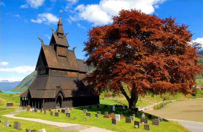 Hopperstad stavkirke ( van een klendender)