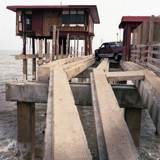 Галвестон (штат Техас), город разрушеный ураганом Айк