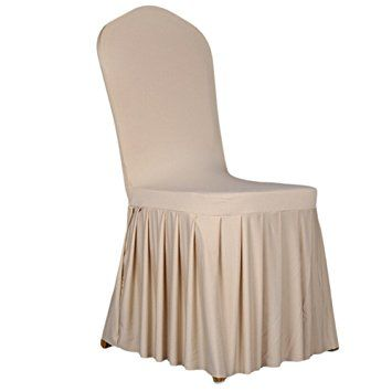 Amazon|チェア カバー 椅子 カバー 椅子フルカバー プリーツスカート ... チェア カバー 椅子 カバー 椅子フルカバー プリーツスカート ダイニングチェア 祝典/ホテル/ウェディング