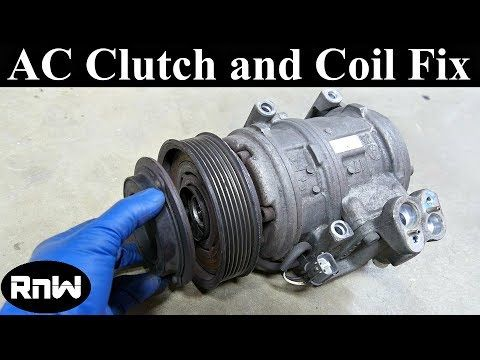 How to Remove and Replace an AC Compressor Clutch and Bearing (Long