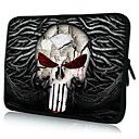 """cadena de hierro del cráneo de neopreno Funda para laptop de 10 a 15 casos """"protectores de MacBook Dell HP Acer samsung"""