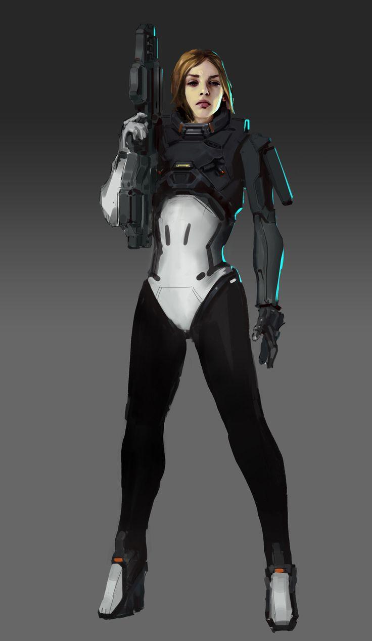 bassman5911:  Starcraft Ghost - Nova by Barts