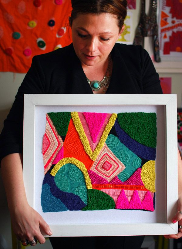 Space to Create: Textile and embroidery artist Liz Payne
