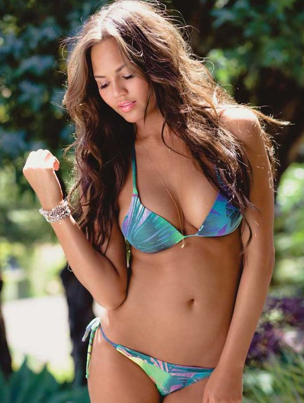 Chrissy Teigen designs swimwear line!