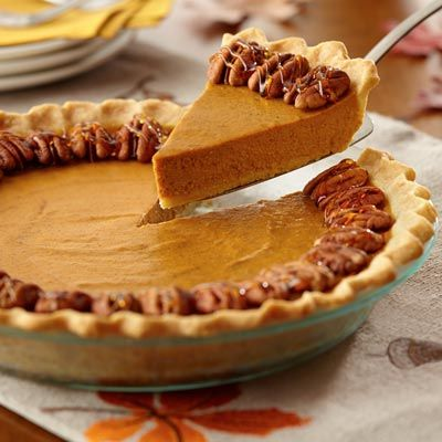 Make traditional pumpkin pie extraordinary with a hint of maple in the ...