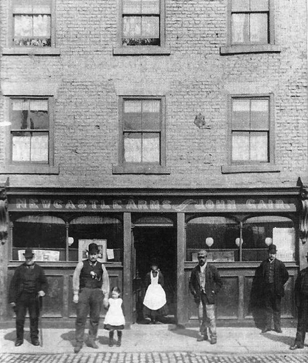 Newcastle Arms - 1912 Union Quay, North Shields