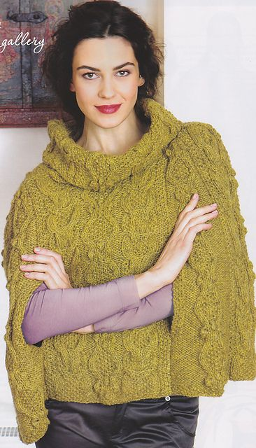 Free Knitting Patterns Capes : Cape pattern, Capes and Free knitting on Pinterest
