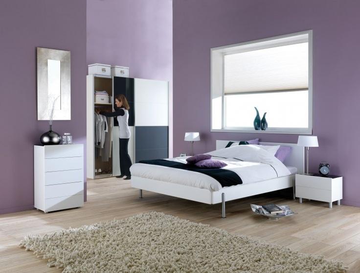16 beste afbeeldingen over slaapkamers lila op pinterest hal kleuren lavendel en koninklijken - Kamer kleur idee ...