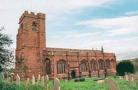 Holt Church, near Wrexham. Ferocious skirmish fought here in and around the church; loopholes for muskets in church door and musket ball pockmarks on the walls. So much for peace in God's holy house!
