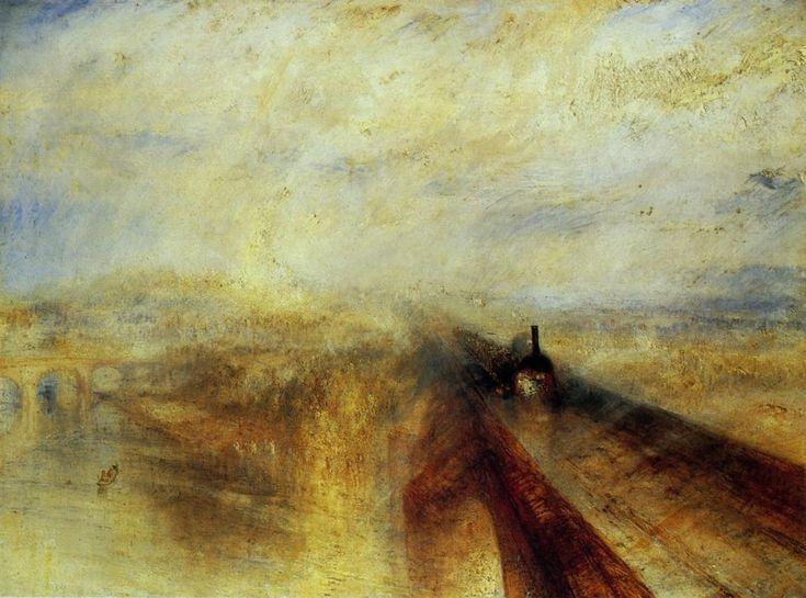 ウィリアム・ターナー 「雨・蒸気・速度・グレートウェスタン鉄道」
