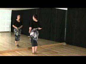 Técnica de baile flamenco: nivel básico: Cambio de peso con piernas y brazos - YouTube