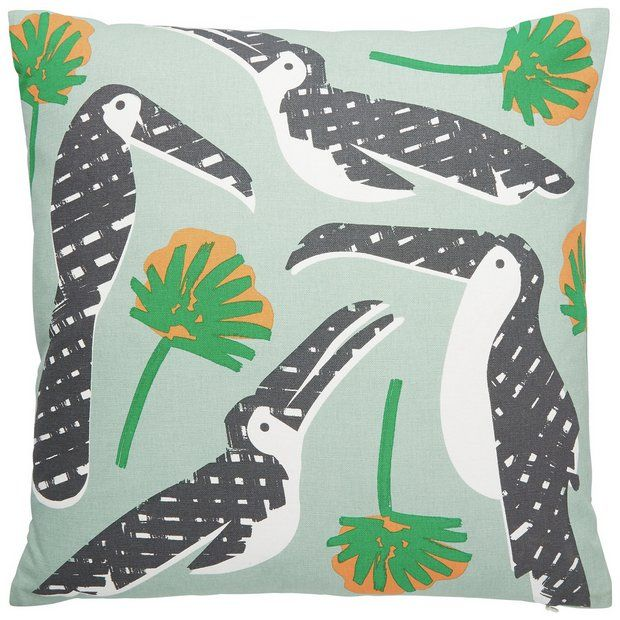 Buy Habitat Toucan Cushion at Argos.co.uk - Your Online Shop for Cushions, Home furnishings, Home and garden.