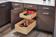 Base Cabinet Pullout Adjustable Shelf System Sink & Base Accessories