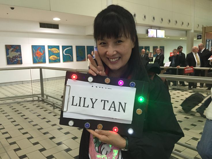 #PartyDotsForSmiles  with the one and only Lily Tan!