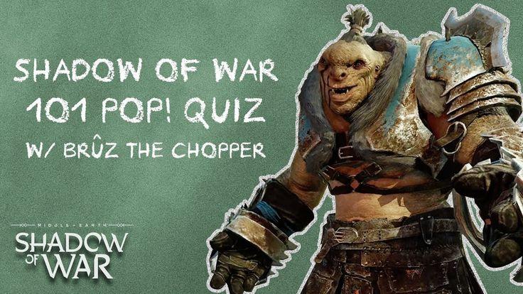 [Video] Official Shadow of War 101 Trailer feat. Bruz the Chopper